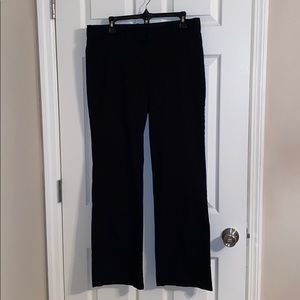 J. Crew City Fit Stretch Black Pants Size 12R